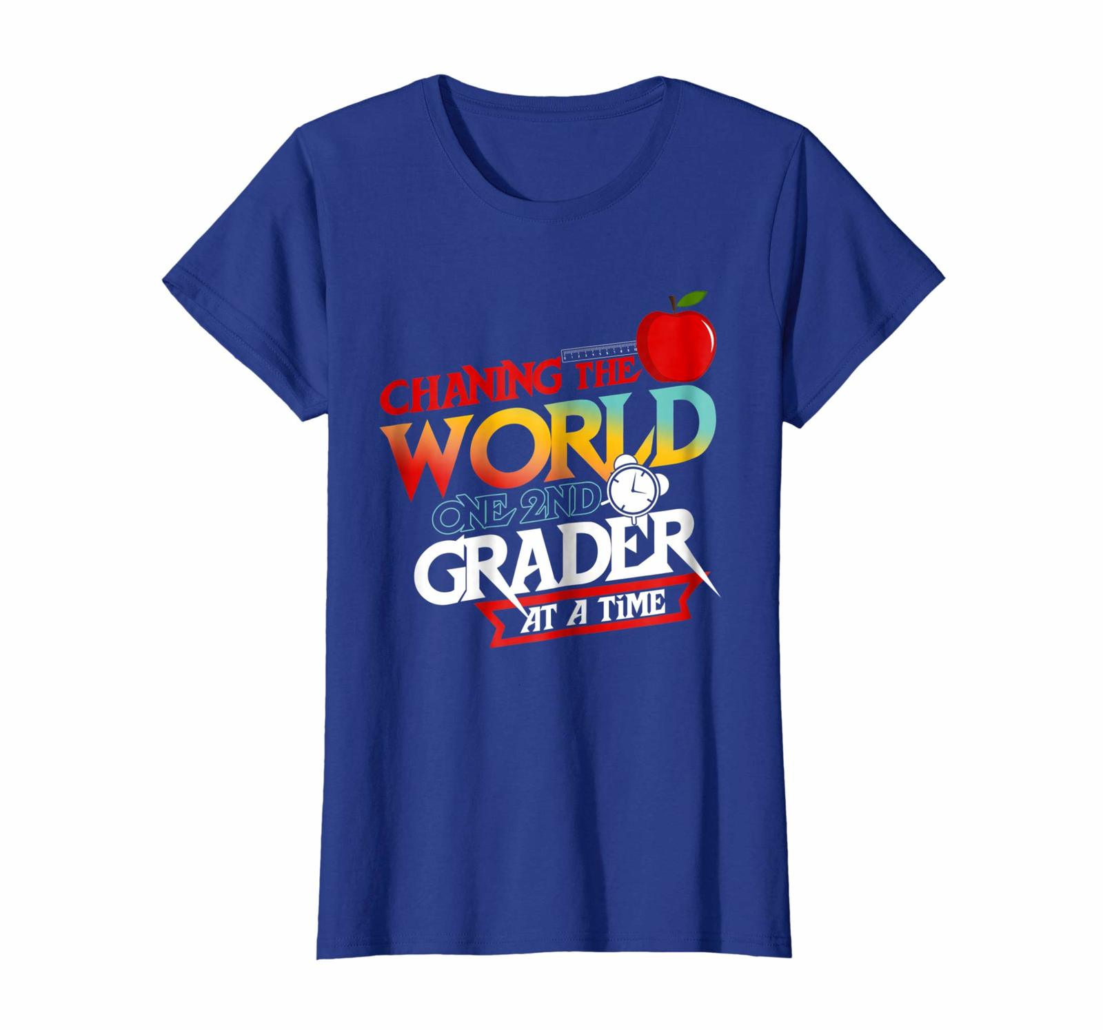 New Style - Changing The World One 2nd Grader At a Time T-Shirt Wowen