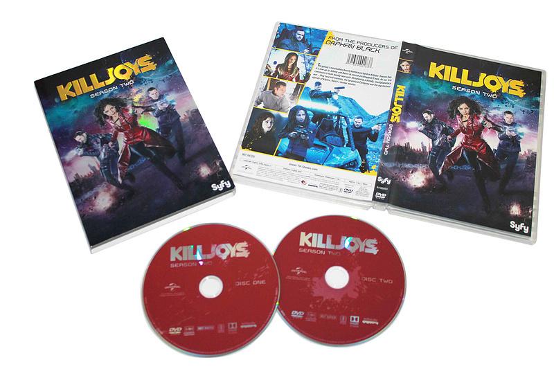 Killjoys The Complete Season 2 DVD Box Set 2 Discs Free Shipping