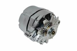 SB Ford 65-89 Mechanical Fuel Pump Two Valve M1G Style Alternator 110 Amp Chrome image 3