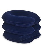 Banglijian Cervical Neck Traction Collar Neck Pillow Home Office Use Blue - $20.21