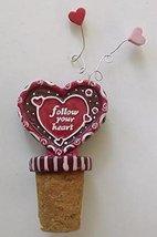Love Wine Bottle Corks (Follow Your Heart) - $12.50