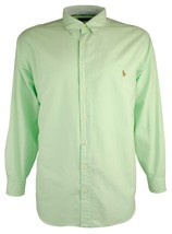 Polo Ralph Lauren Men's Big and Tall Oxford Long Sleeve Shirt - $69.99