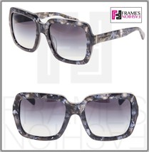 Dolce & Gabbana 4273 Square Oversized Grey Marble Blue Sunglasses DG4273F - $197.01