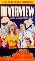Riverview Amusement Park - Chicago Magnet #1 - $5.99