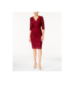 Thalia Sodi Women's Napa Wine Lace Empire Waist Sheath Dress Sizes XS $89 - $21.99