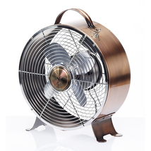 DecoBreeze Retro Metal Copper Fan - DBF5348 - $55.00