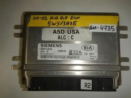 00-01-02 KIA RIO   ECM ECU # 5WY1307E ( PLEASE MATCH # (BOX-4735) - $49.45