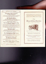 The Hour-Glass Stories Ad Brochure Funk & Wagnalls Co 1910s - $11.99