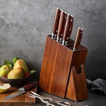Wood Kitchen Knife Holder Knife Rack Holder Knife Stand Kitchen Accessories - $87.41