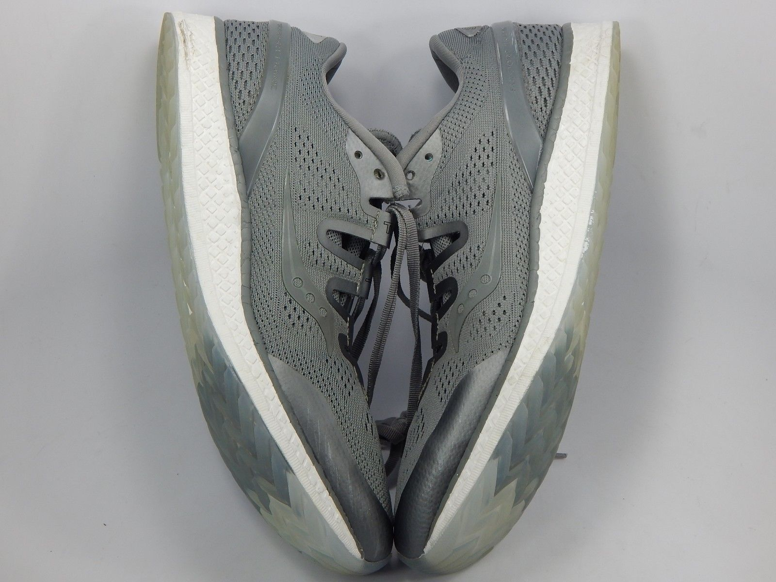 Saucony Freedom ISO Size 10.5 M (D) EU 44.5 Men's Running Shoes Gray S20355-51