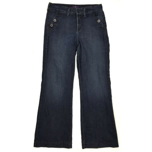 Primary image for NYDJ Not Your Daughters Jeans Flare Leg size 10 Womens Stretch USA
