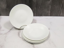 Set 4 Rosenthal Continental CLASSIC MODERN WHITE Bread Butter Side Plate... - $27.72