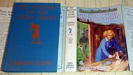 Nancy Drew Mystery of the Ivory Charm - Early HC/DJ by Carolyn Keene VG/VG - $48.75