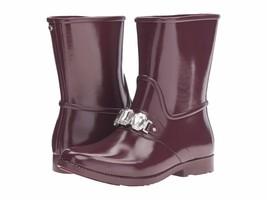 MICHAEL Michael Kors Leslie Rain Bootie Plum $150 Mult Sz - $99.99