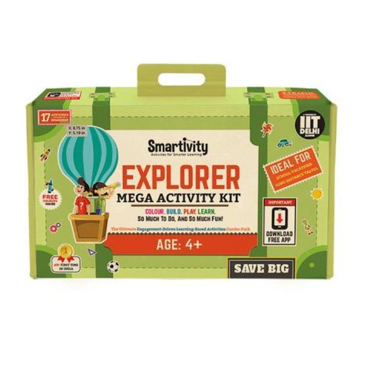 Primary image for Smartivity Explorer (S.T.E.M + AR) Mega- Activity Kit Age 4+ Science Kit DIY