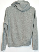 Forever 21 Women's Plain Gray Front Pocket Pullover Hooded Sweatshirt Hoodie S image 2