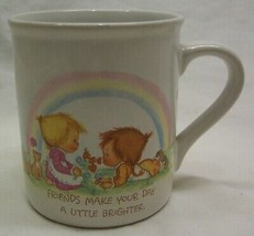 VINTAGE 1983 Hallmark MUG MATES Betsey Clark FRIENDS  COFFEE MUG CUP 198... - $14.85