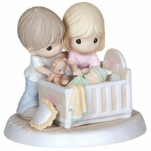 Parents Baby Precious Moments Figurine We're Glad You Came Into Our Live... - $70.28