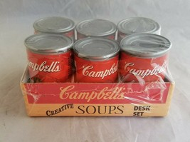 Campbells Soups Desk Set Promotional Advertising Set Sealed Office Supplies - $13.85