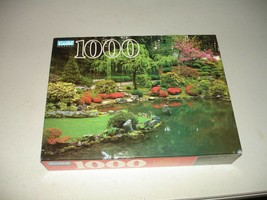 Guild 1000 Piece Puzzle - Japanese Garden, Portland OR - Brand New, Sealed - $13.85