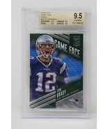 2016 Elite Game Face Green #GFTB Tom Brady Patriots  Beckett 9.5 GEM MINT - $379.99