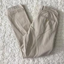 J Crew Chino Pants Cotton Beige Khahi Men Sz 30 x 30 - $34.99