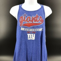 NFL Teens NY Giants Sleeveless Top Size Juniors XL (15/17) Cotton/Poly -NEW -j - $24.99
