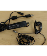 Plantronics Earbud & Microphone with USB DSP Audio Interface - $29.69