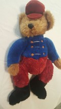 """Russ Berrie Bandy Teddy Bear Bears From the Past Marching Band Bandleader 18"""" - $14.98"""