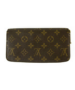 Louis Vuitton Zippy Wallet LV Monogram Canvas All Around Zipper Long Wal... - $534.60