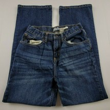 OshKosh B'Gosh Boys Jeans Sz 14 Classic Straight Leg Dark Wash Denim - $10.94