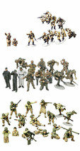 3 Tamiya Models - US Army, German Panzer Grenadier and Russians with Tan... - $36.62