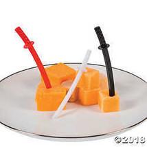 Fun Express Ninja Sword Cupcake or Food Picks - 72 Pieces - $5.74