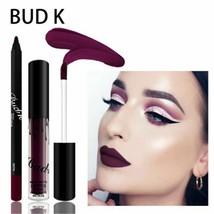 Lip Lipstick Velvet Gloss Women Sexy Liner Set Long Lasting Liquid Liner... - $6.36