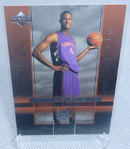 2003-04 Upper Deck Rookie Exclusives Chris Bosh Rookie Card #4 RAPTORS - $7.91