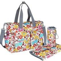 Fashionable WaterProof High Capacity Baby Bottle Tote Bag(Lotus Flower) - $51.27
