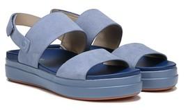 Dr. Scholls  Womens Scout Slingback Sandal Suede Allure Blue Size 6.5 - $59.39