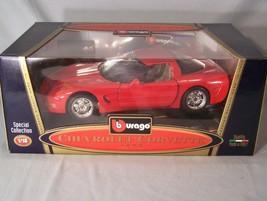 Chevrolet Corvette 1997 1:18 scale diecast Burago Bburago Special Collection - $45.08