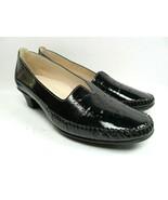 SAS Sanyo Womens Black Patent Leather Low Heel Pumps US Size 10M  Very Nice - $48.51