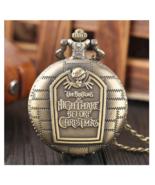 Tim Burton The Nightmare Before Christmas Quartz Pocket Watch - $12.90