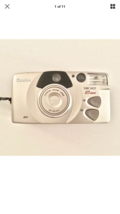 Canon Sure Shot 85 Zoom Platinum 35mm Point & Shoot Film Camera   - $11.76