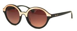 Kenneth Cole New York Womens Sunglass Soft Round Black, Smoke Len KC7105 33F - $31.49