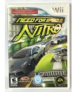 Need For Speed Nitro Nintendo Wii Video Game Complete Manual Case Racing... - $12.87