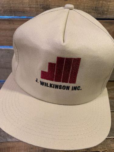 J. WILKINSON INC Vintage Made In USA Snapback Adult Cap Hat