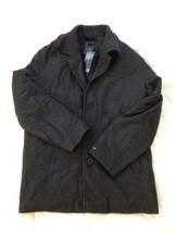 TOMMY HILFIGER WOOL DARK GRAY WONDERFUL COAT-JACKET -LARGE - $125.12