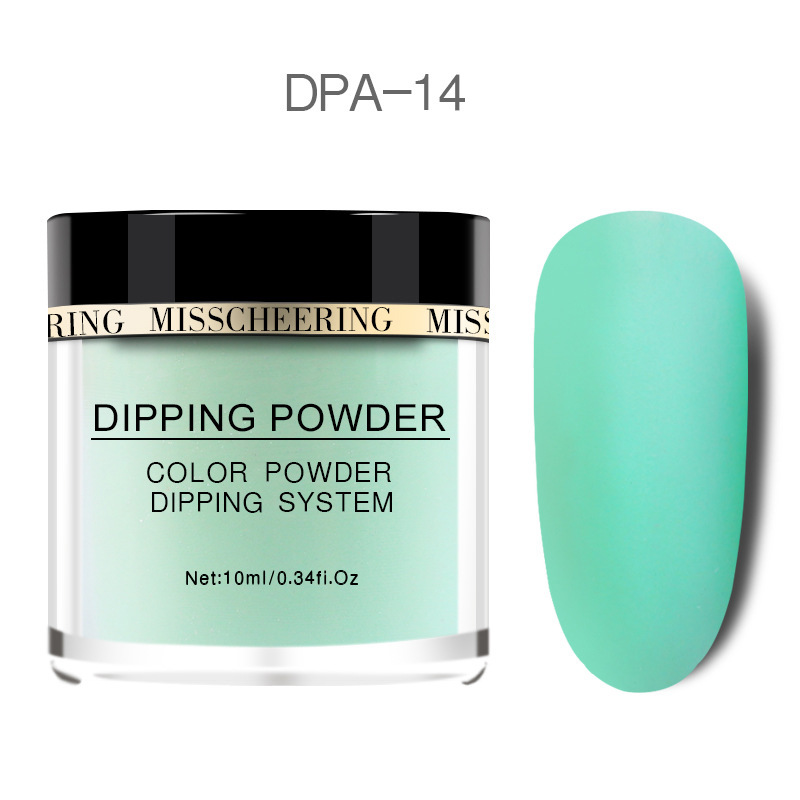 Matte Color Manicure Powder Nail Dipping Powder Nail Art Decorations  14 image 5