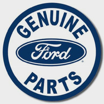 Ford Genuine Parts Motor Car Truck  Metal Sign Tin New Vintage Style USA... - $10.29