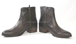 NIB Frye Ray Seam Leather Boots Women's Size 8.5 M in Slate Color - $4.634,40 MXN