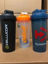 "Branded Protein Supplement Shakers + 3 Free Samples ""Free Shipping"" - $6.16+"