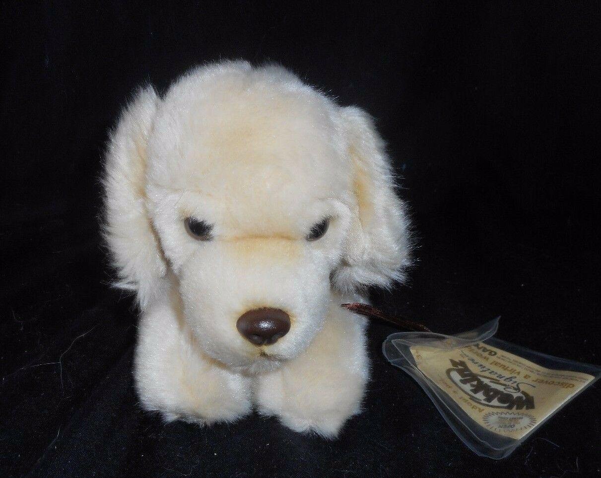 GANZ WEBKINZ SIGNATURE DOG GOLDEN RETRIEVER PUPPY GOLD STUFFED ANIMAL PLUSH TOY